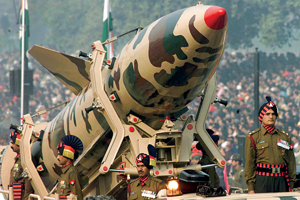 India could launch nuclear weapons on Pakistan as