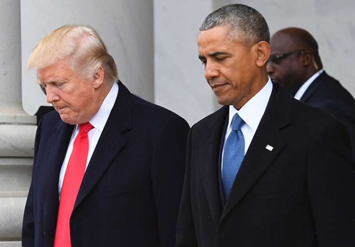 Trump accuses Obama of tapping his phones
