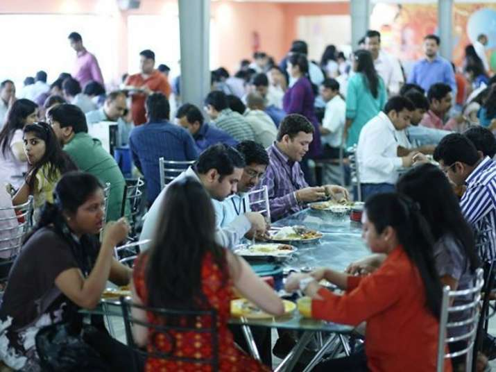 Office amenities like free meal, pick and drop to attract