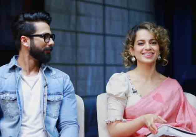 India Tv - Shahid kapoor, Kangana Ranaut