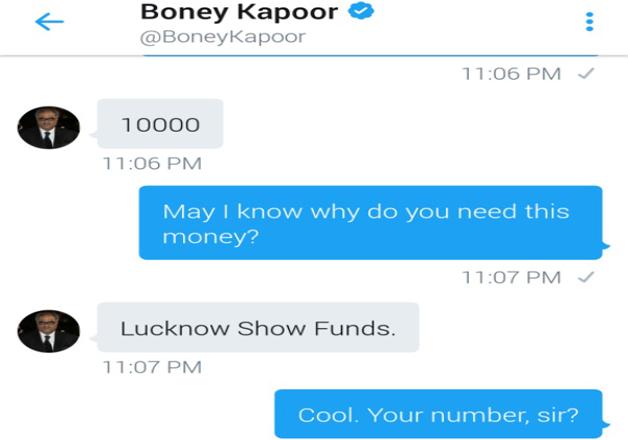 India Tv - Boney Kapoor Twitter account hacked