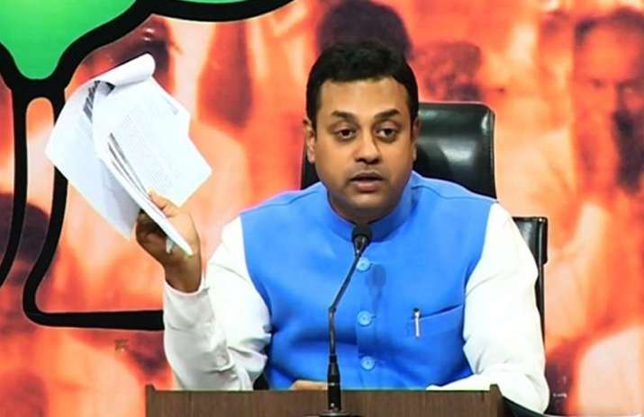 File pic of Sambit Patra
