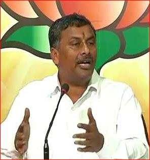 BJP MLA N.V.S.S. Prabhakar
