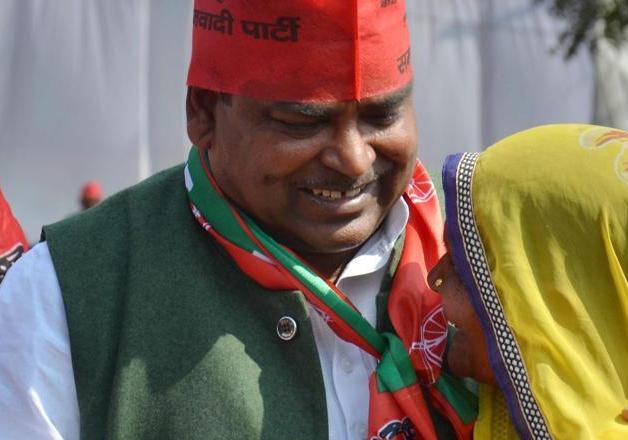 File pic of UP Minister Gayatri Prajapati