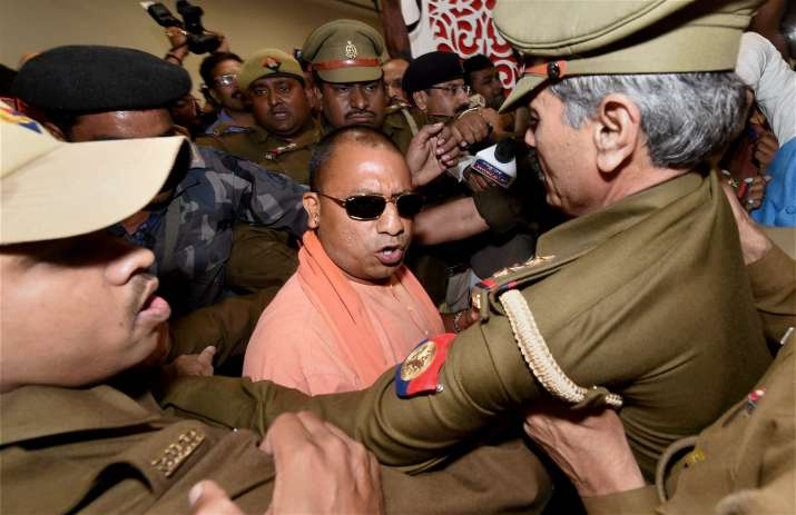 Yogi Adityanath will be sworn in as UP CM today