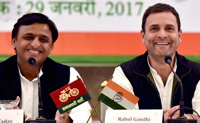 Samajwadi Party-Congress coalition