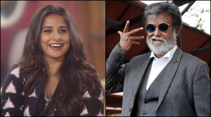 Vidya Balan might pair up against Rajnikanth in Kabali spin