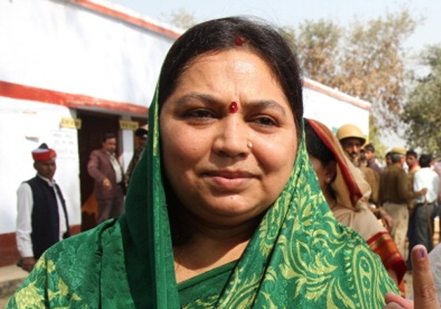 File pic of MSY's wife Sadhna