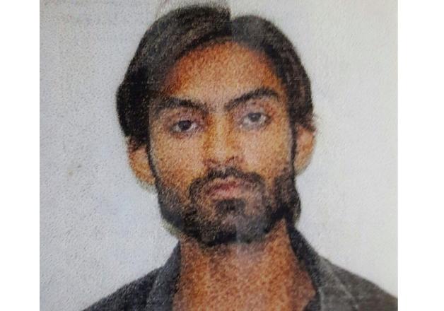 File photo of Saifullah, ISIS suspected terrorist gunned
