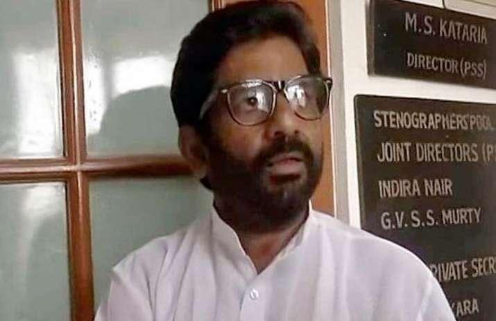 File pic of Shiv Sena MP Ravindra Gaikwad