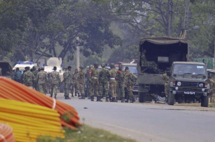 Bangladesh army kills 4 militants inside Sylhet building