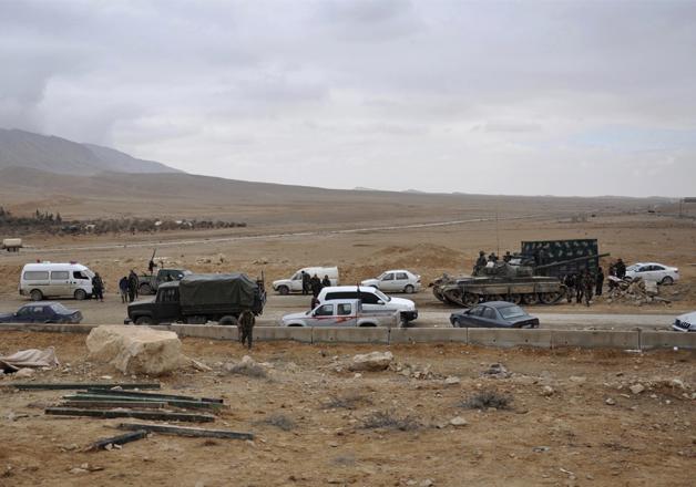 Syrian Army recaptures Palmyra as Islamic State defenses
