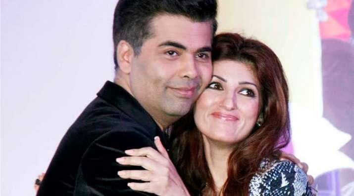 India Tv - Karan Johar, Twinkle Khanna
