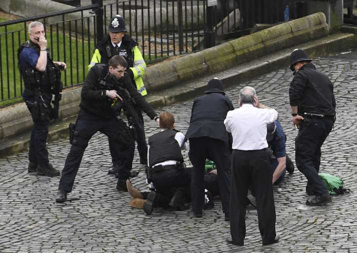 Police officer, attacker among 4 killed in terrorist