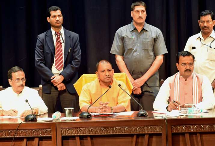 UP CM Yogi Adityanath allots portfolios to his ministe