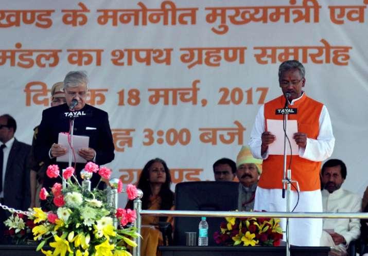 Uttarakhand CM Trivendra Singh Rawat allocates portfolios