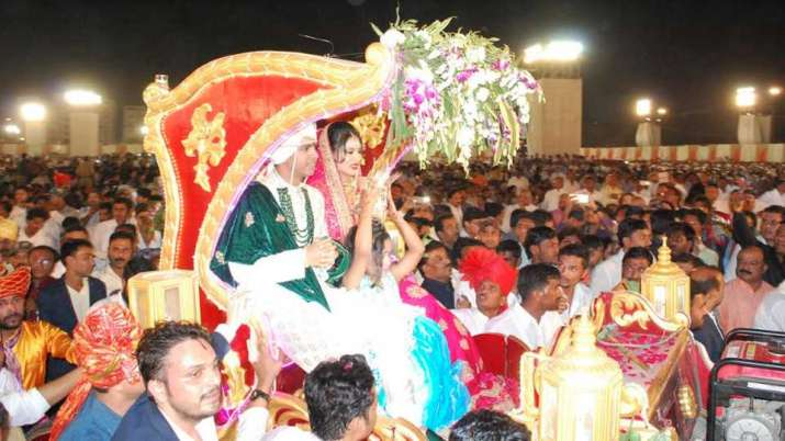 India Tv - As per the reports, 30,000 guests were invited at the wedding