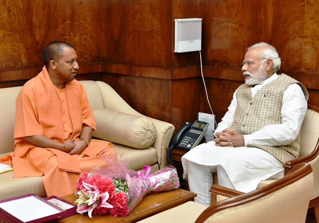 Government questions NYT's wisdom to criticise Adityanath
