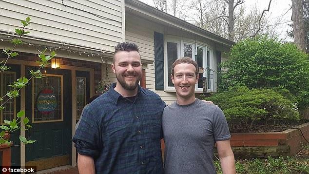 India Tv - Mark Zuckerberg with Daniel Moore