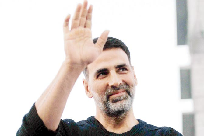 Akshay wins his first National Film Award and Twitter