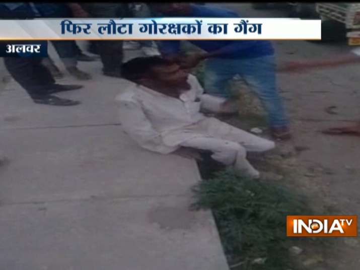 Alleged cow vigilantes caught on camera beating man to