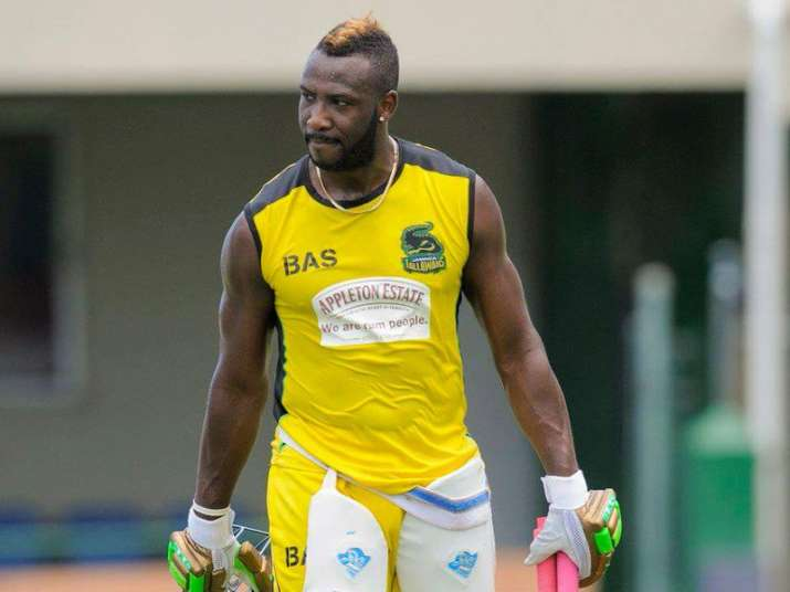 File pic - West Indies all-rounder Andre Russell planning