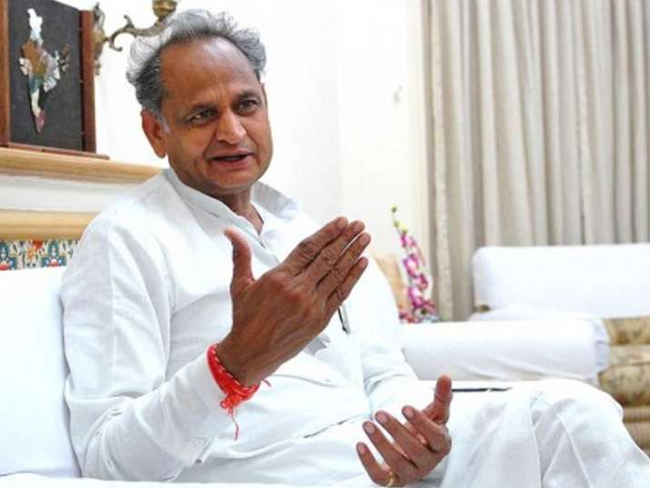 File pic of former Rajasthan Chief Minister Ashok Gehlot