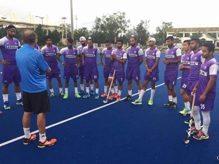 India's training session in Malaysia ahead of the 26th