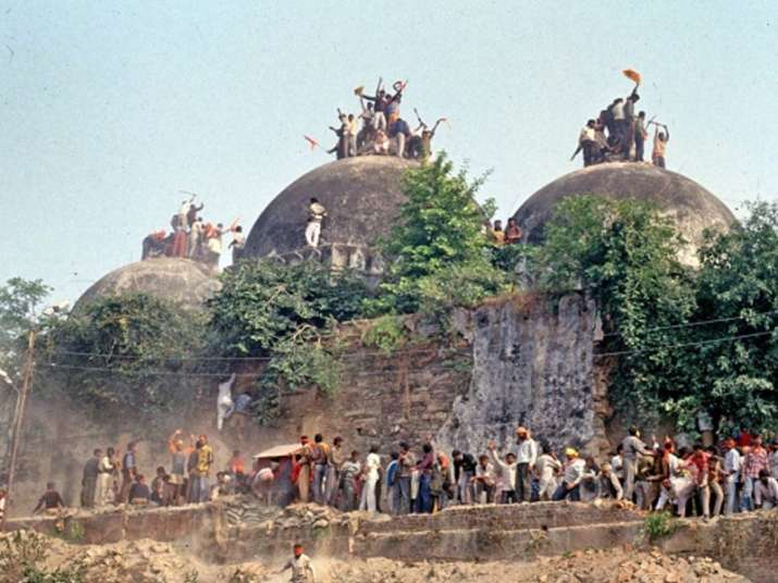 Chronology of events in 1992 Babri Masjid demolition case