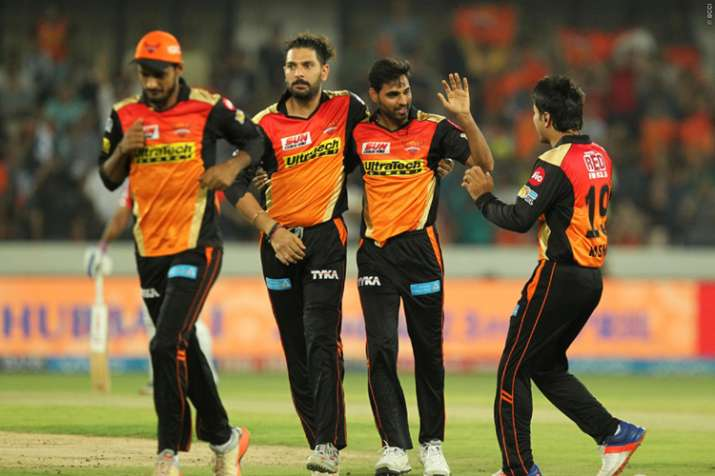 Bhuvneshwar steals the show with fifer in match against