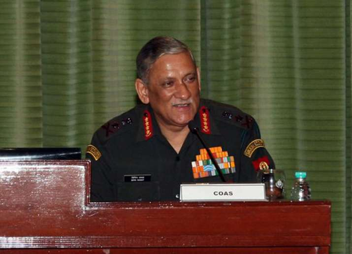 General Bipin Rawat at Army Commanders' Conference