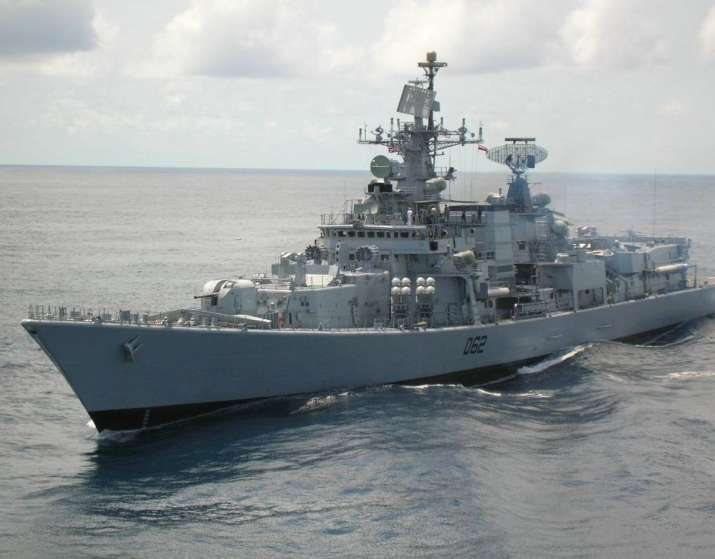 China ignores Indian Navy's role in rescuing ship from