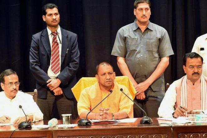 CM Yogi scraps 'Samajwadi Pension Scheme', cycle tracks