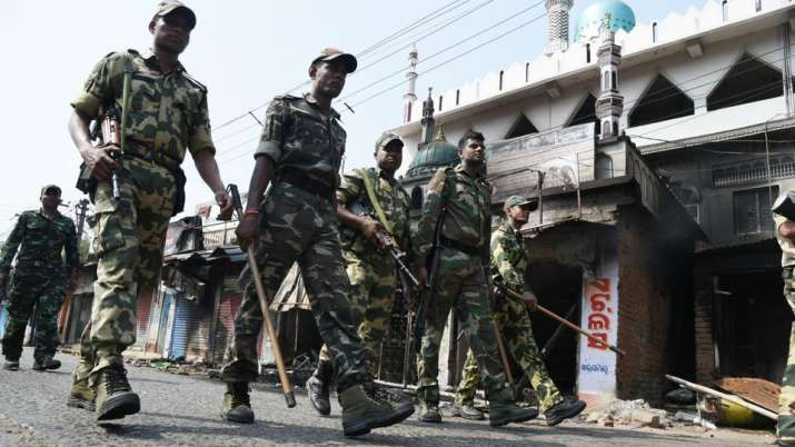 Bhadrak, Odisha, Curfew