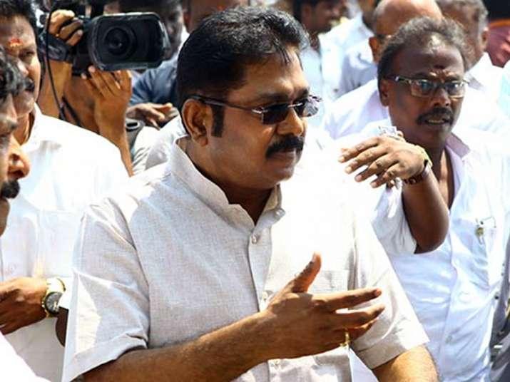 Dhinakaran attacks Palaniswami in show of strength rally
