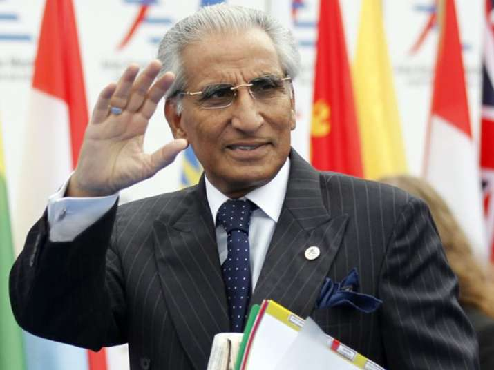 File pic of Tariq Fatemi