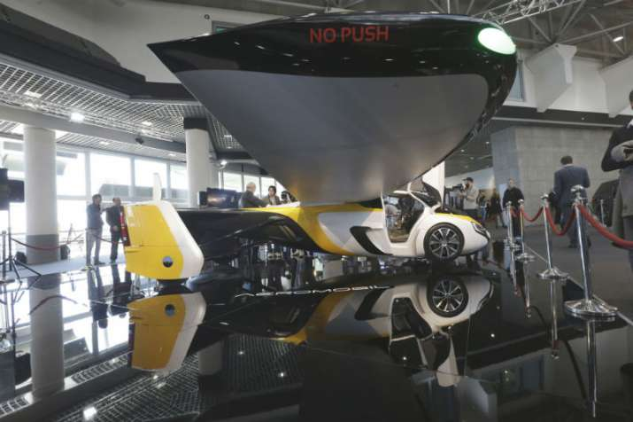 India Tv - Meet AeroMobil's flying car, available for pre-order soon