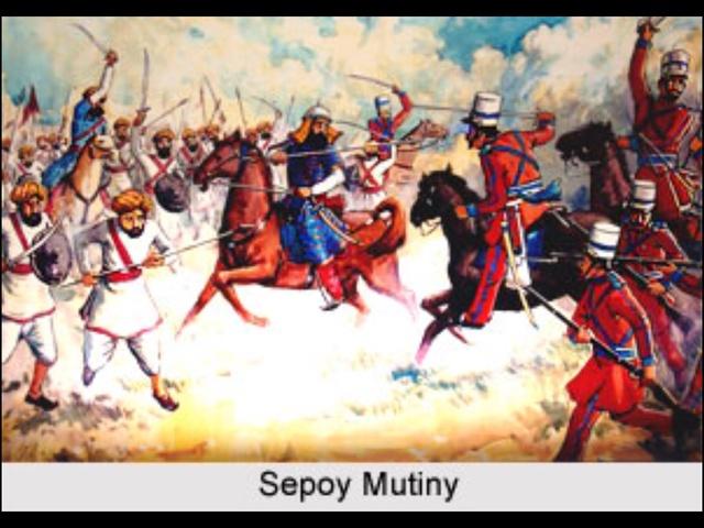India Tv - Sepoy Mutiny in 1857