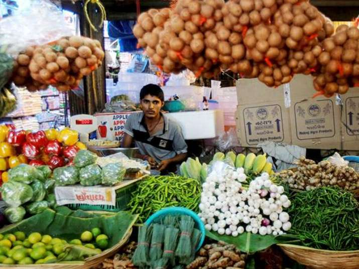 Vegetable prices shot up 21.95 per cent in July after