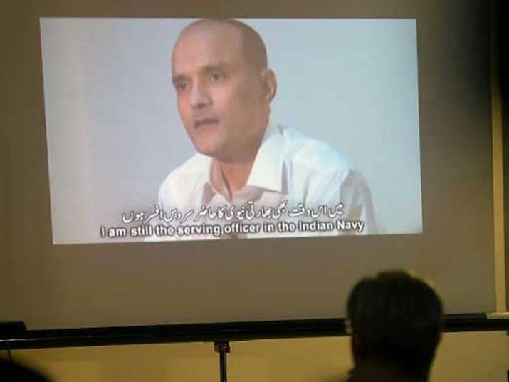 File pic of former Indian Naval officer Kulbhushan Jadhav