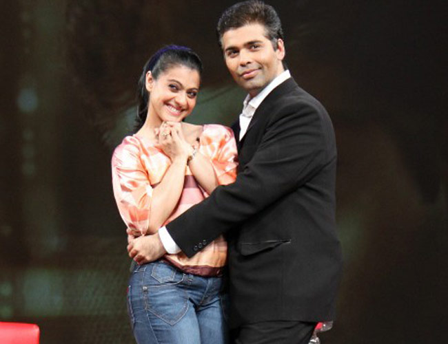 Will Kajol forget everything and meet Karan Johar's kids?