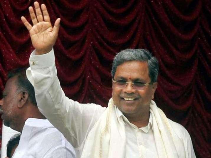 File pic of Karnataka Chief Minister Siddaramaiah