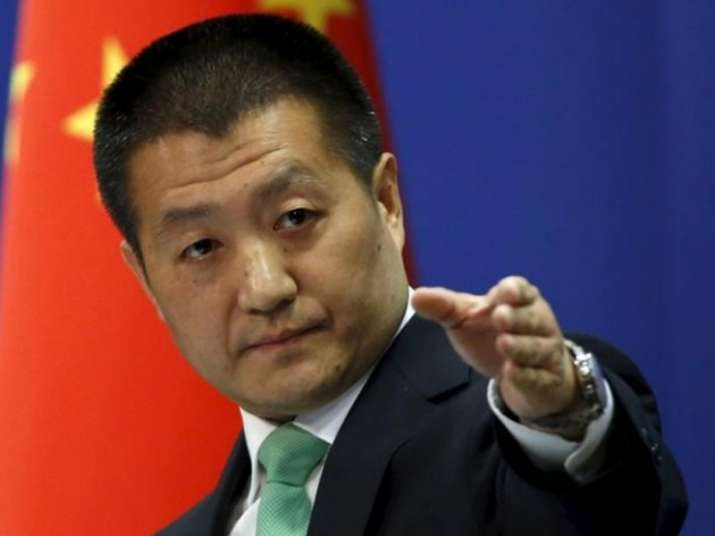 File pic of Chinese Foreign Ministry spokesman Lu Kang