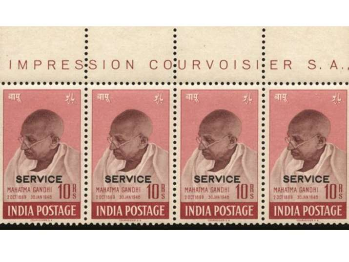 1948 stamps featuring Mahatma Gandhi auctioned for record