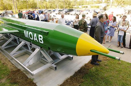 'Mother of all bombs' attack sends clear message to