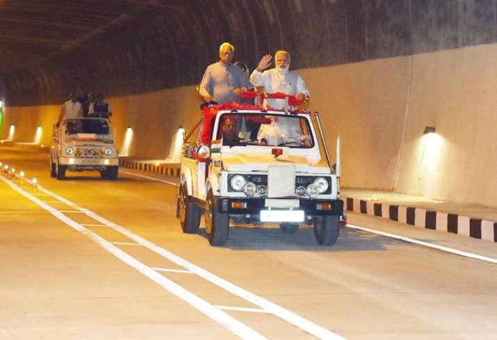 PM Modi inaugurates Asia's longest road tunnel