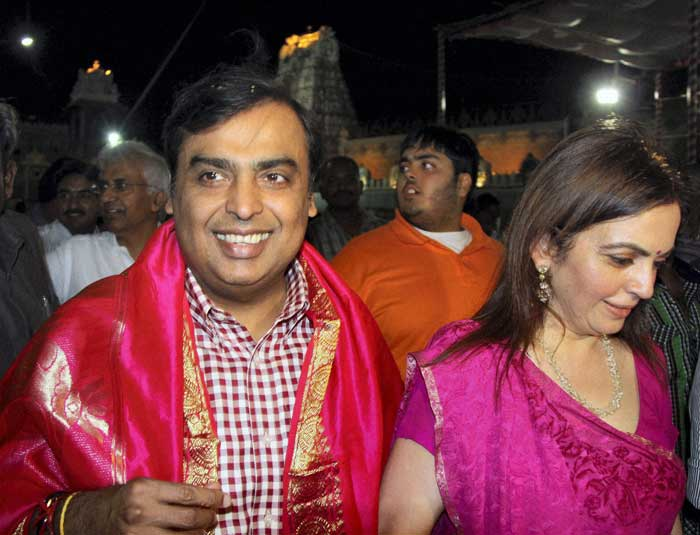 Mukesh Ambani donates medical equipment to Shirdi temple
