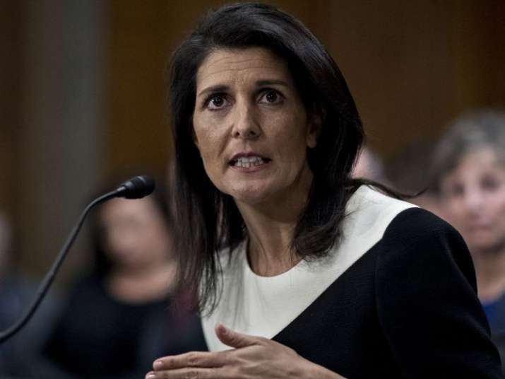 File pic of Nikki Haley