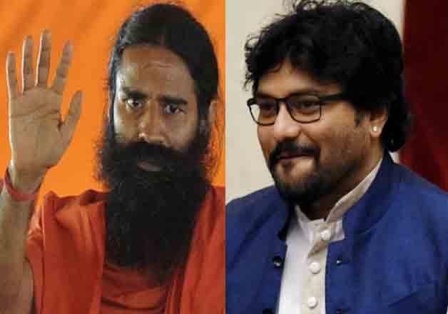 Watch video: Babul Supriyo challenges Baba Ramdev for push