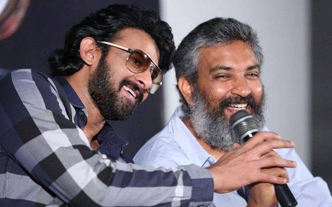 RAJAMOULI AND PRABHAS FIGHTING FOR ONE STORY!